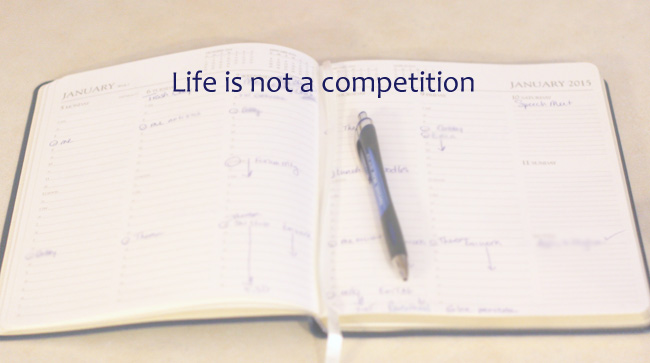 Lifeisnotacompetition