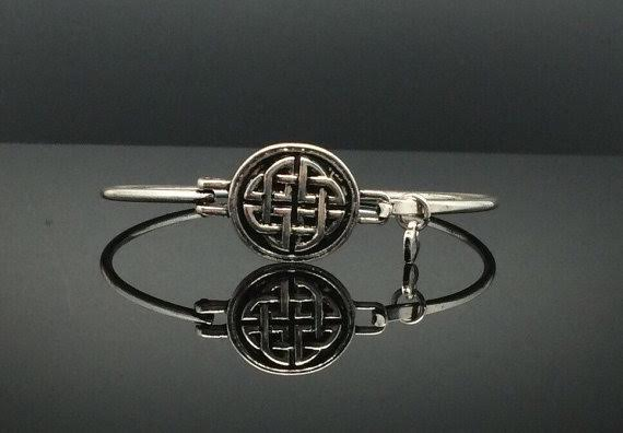 Celtic shield bracelet